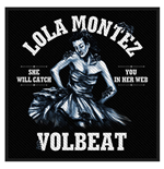 Volbeat Standard Patch: Lola Montez (Packed)