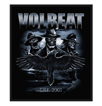Volbeat Standard Patch: Outlaw Raven (Packed)
