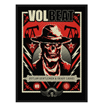 Volbeat Standard Patch: Ghoul Frame (Packed)
