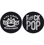 Five Finger Death Punch Slipmat Set: Knuckle/Fuck Pop