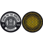 Bring Me The Horizon Slipmat Set: Sheffield UK