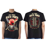 Five Finger Death Punch Men's Tee: Zombie Kill Fall 2017 Tour (Ex Tour)