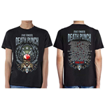 Five Finger Death Punch Men's Tee: Wingshield Fall 2017 Tour (Ex Tour)