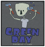 Green Day Standard Patch: Hammer Face (Packed)