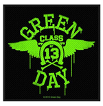 Green Day Standard Patch: Neon Wings (Loose)