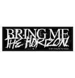 Bring Me The Horizon Standard Patch: Horror Logo (Packed)