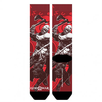 GOD OF WAR Sublimation Artwork Men's Crew Socks