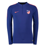 2018-2019 Atletico Madrid Nike Drill Training Top (Royal Blue)