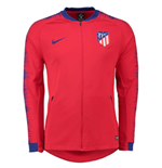 2018-2019 Atletico Madrid Nike Anthem Jacket (Red)