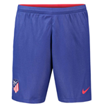 2018-2019 Atletico Madrid Home Nike Football Shorts (Blue)