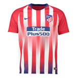 2018-2019 Atletico Madrid Home Nike Football Shirt