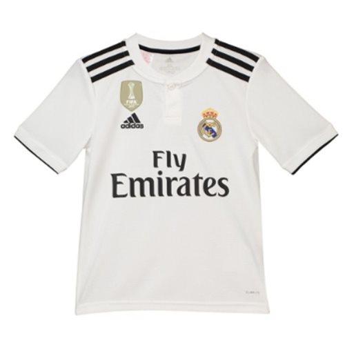 buy popular 85e90 b3839 2018-2019 Real Madrid Adidas Home Shirt (Kids)