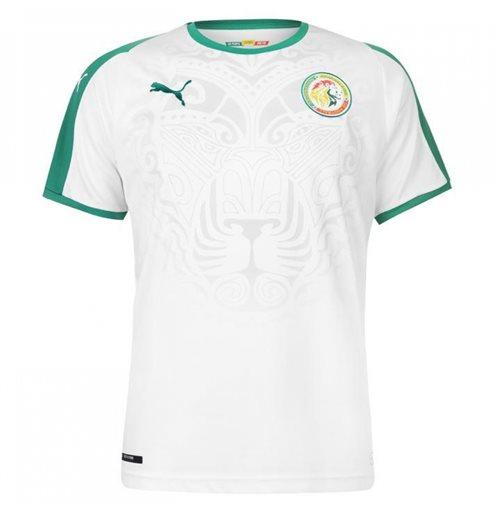 the best attitude d8184 c81e2 2018-2019 Senegal Home Puma Football Shirt