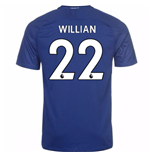 2017-18 Chelsea Home Shirt (Willian 22) - Kids