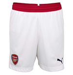 2018-2019 Arsenal Home Football Shorts (Kids)