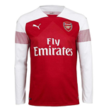 2018-2019 Arsenal Puma Home Long Sleeve Shirt