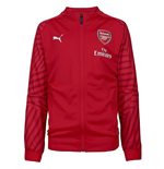 2018-2019 Arsenal Puma Stadium Jacket (Chilli Pepper) - Kids