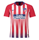 2018-2019 Atletico Madrid Authentic Vapor Match Home Nike Shirt