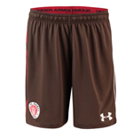 2018-2019 St Pauli Home Football Shorts (Timber)