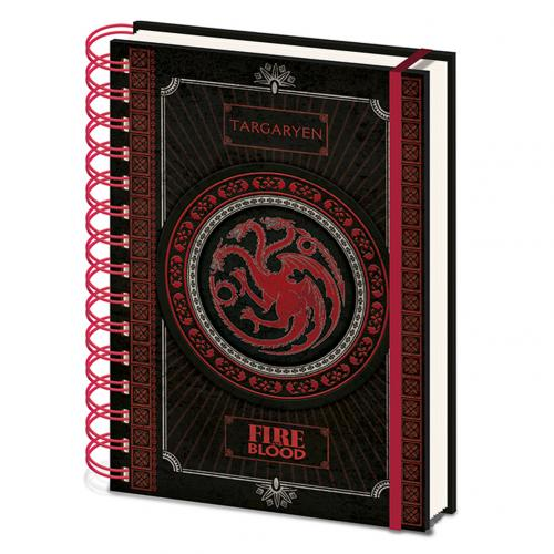 Game Of Thrones Notebook Targaryen