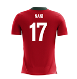 2018-2019 Portugal Airo Concept Home Shirt (Nani 17)