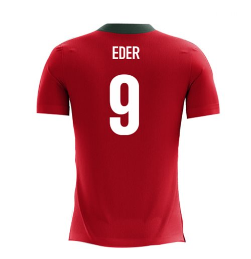 2018-2019 Portugal Airo Concept Home Shirt (Eder 9) - Kids