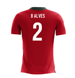 2018-2019 Portugal Airo Concept Home Shirt (B Alves 2) - Kids