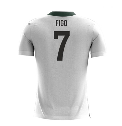 2018-2019 Portugal Airo Concept Away Shirt (Figo 7)