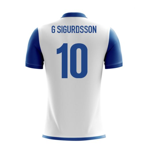 2018-19 Iceland Airo Concept Away Shirt (G Sigurdsson 10) - Kids