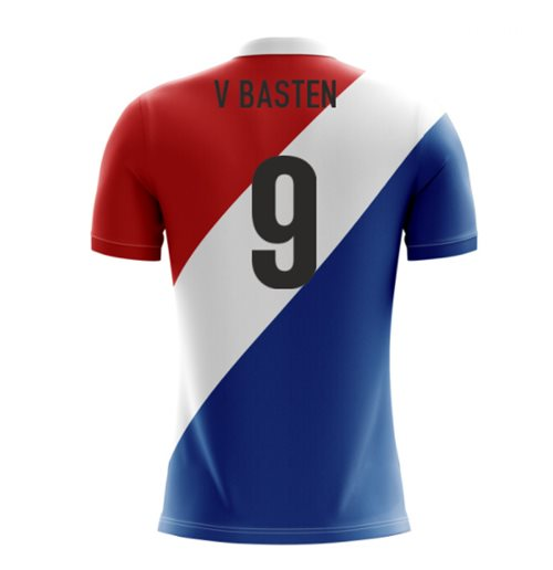2018-19 Holland Airo Concept Third Shirt (V. Basten 9) - Kids