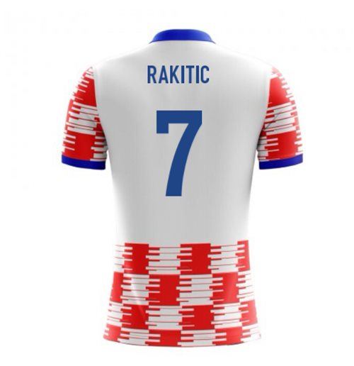 2018-19 Croatia Airo Concept Home Shirt (Rakitic 7) - Kids