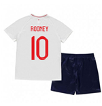 2018-2019 England Home Nike Baby Kit (Rooney 10)