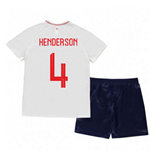 2018-2019 England Home Nike Baby Kit (Henderson 8)
