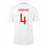 2018-2019 England Home Nike Football Shirt (Gerrard 4)