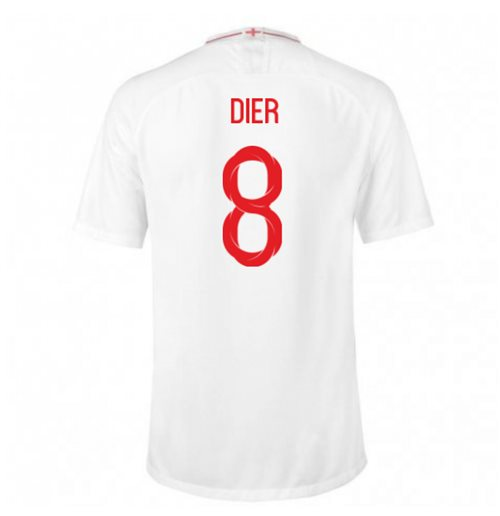 2018-2019 England Home Nike Football Shirt (Dier 4) - Kids