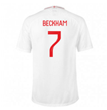 2018-2019 England Home Nike Football Shirt (Beckham 7)