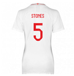 2018-2019 England Home Nike Womens Shirt (Stones 5)
