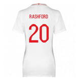 2018-2019 England Home Nike Womens Shirt (Rashford 19)