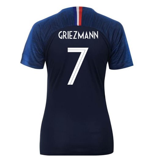 2018-2019 France Home Nike Womens Shirt (Griezmann 7)