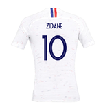 2018-2019 France Away Nike Womens Shirt (Zidane 10)