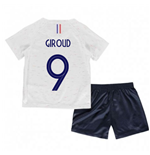 2018-2019 France Away Nike Little Boys Mini Kit (Giroud 9)