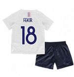 2018-2019 France Away Nike Little Boys Mini Kit (Fekir 18)