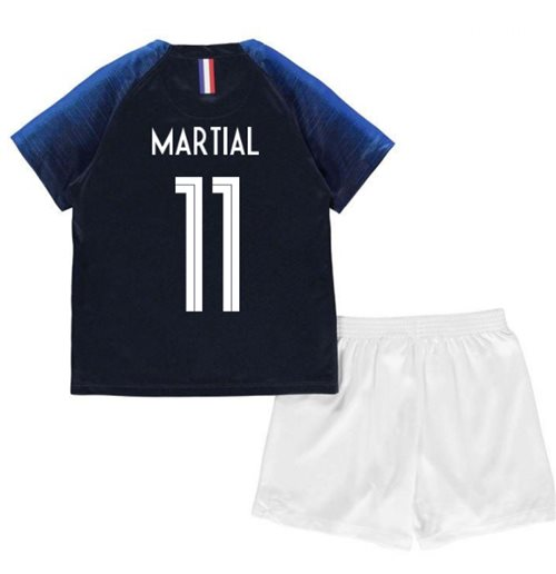2018-2019 France Home Nike Mini Kit (Martial 11)