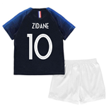 2018-2019 France Home Nike Baby Kit (Zidane 10)