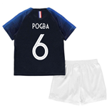 2018-2019 France Home Nike Baby Kit (Pogba 6)