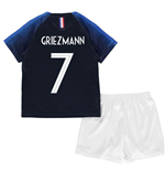 2018-2019 France Home Nike Baby Kit (Griezmann 7)