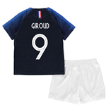 2018-2019 France Home Nike Baby Kit (Giroud 9)