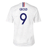 2018-2019 France Away Nike Football Shirt (Giroud 9)