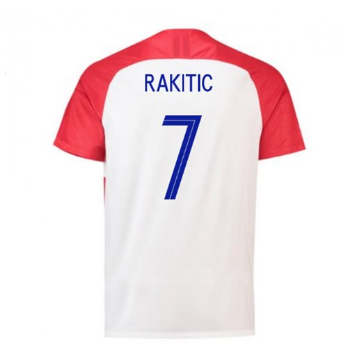 2018-2019 Croatia Home Nike Football Shirt (Rakitic 7)