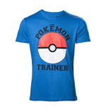 Pokémon - Pokemon Trainer T-Shirt Blue